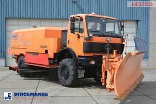 MERCEDES-BENZ SK 2031 4x4x4 Schmidt CJS9 airport sweeper snow plough čistač aerodroma