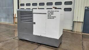 JOHN DEERE LSA 43.2S2 Silent 3 x Phase 43kva diesel generator