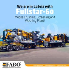 novo FABO FULLSTAR-60 Crushing, Washing & Screening  Plant mobilna postrojenje za drobljenje