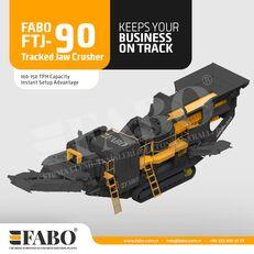 novo FABO Fabo FTJ-90 Tracked Jaw Crusher mobilna postrojenje za drobljenje