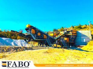 novo FABO MVSI 900 MOBILE VERTICAL SHAFT IMPACT CRUSHING SCREENING PLANT mobilna postrojenje za drobljenje