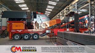 novo GENERAL MAKİNA GNR 01 Mobile Crusher Plant mobilna postrojenje za drobljenje