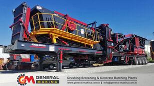 novo GENERAL MAKİNA GNR02 Mobile Stone Crushing mobilna postrojenje za drobljenje