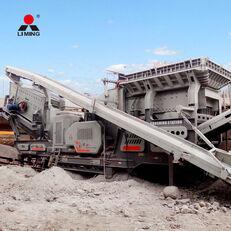 novo Liming 300tph Combined Mobile Road Building Crushers Machine mobilna postrojenje za drobljenje