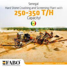 novo FABO STATIONARY CRUSHING & SCREENING PLANT 250-350 TPH postrojenje za drobljenje